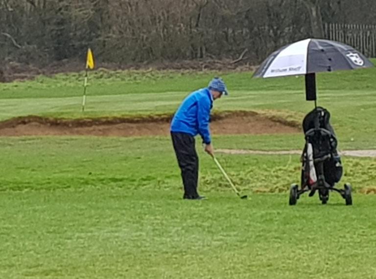 Tony May Stevenage Golf Club