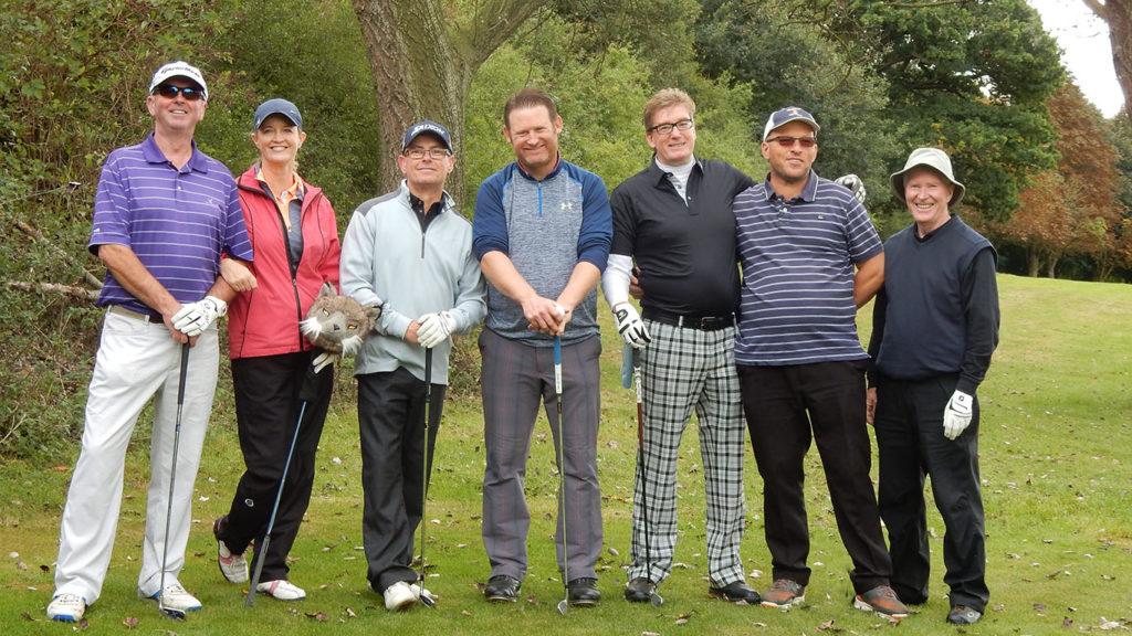 Golf club members