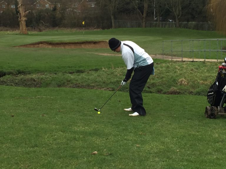 Rob McDonald Stevenage Golf Club