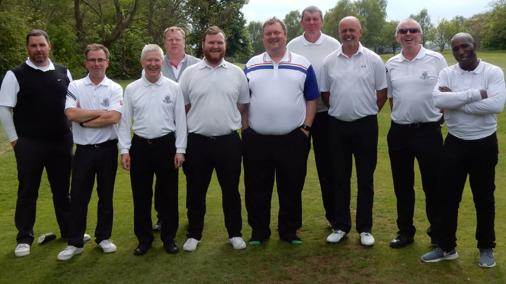 Stevenage Golf Club HFL team photo