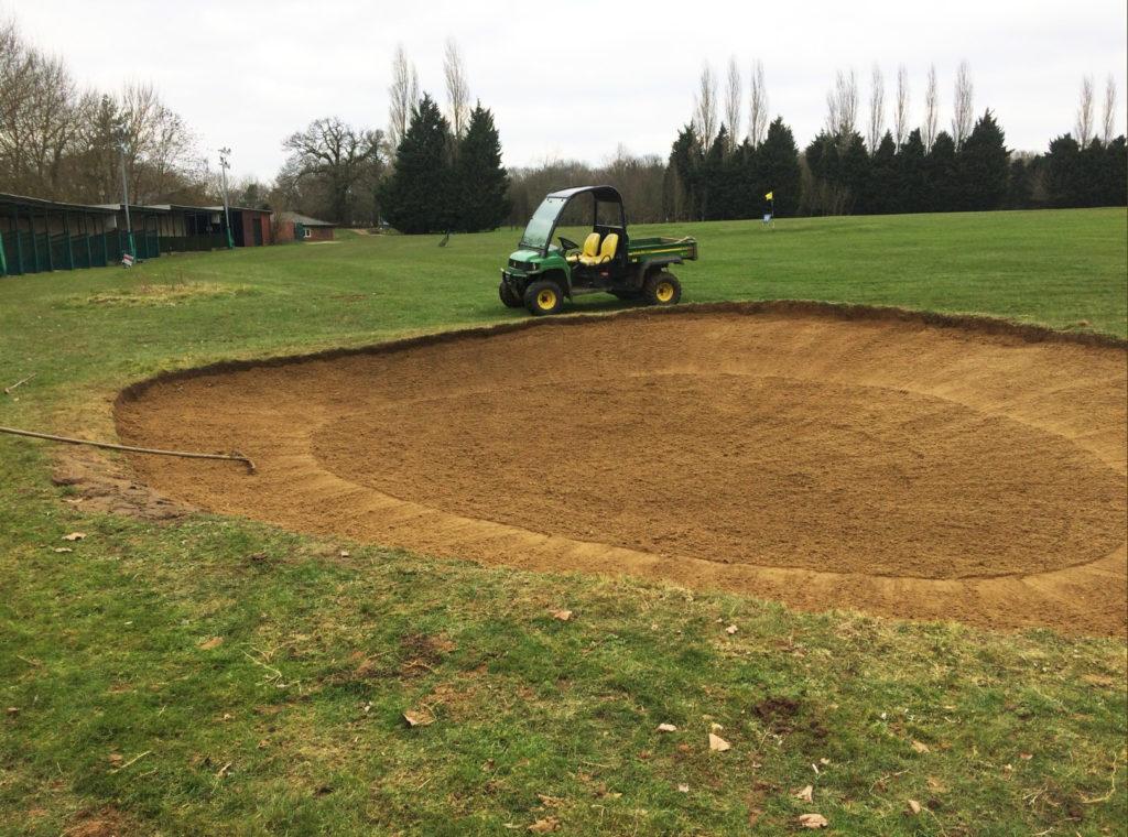 Stevenage Golf Club Practice Bunker 3