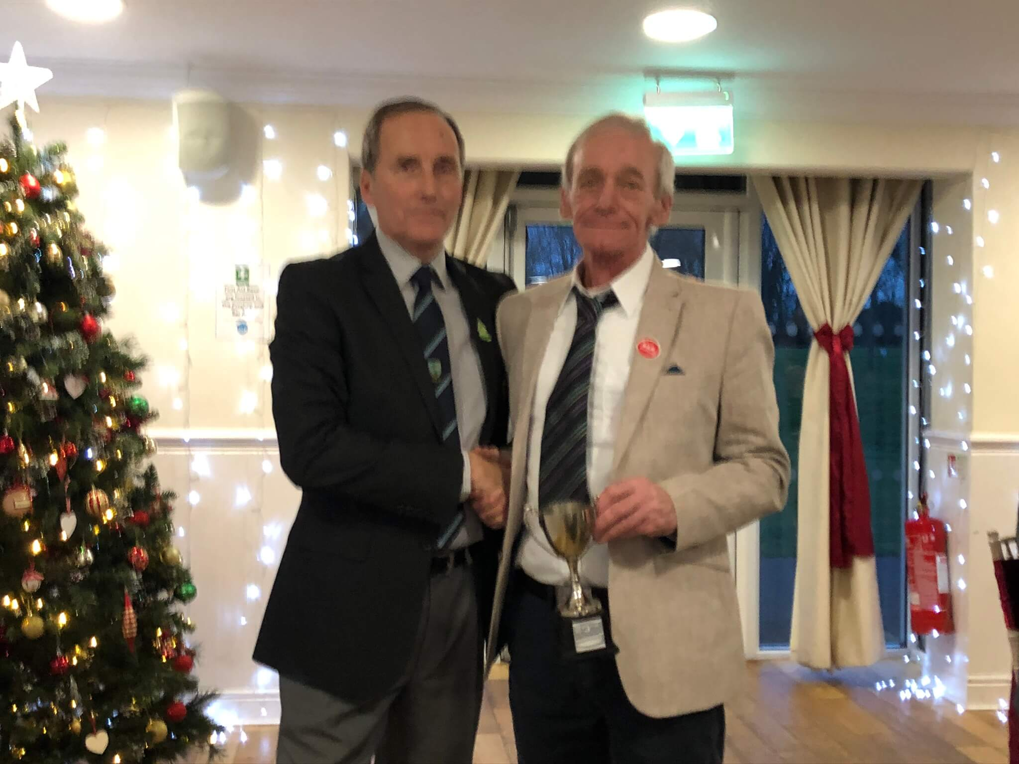 Stevenage golf club seniors prizegiving